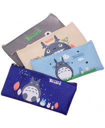 Lovely cartoon saco de caneta Totoro