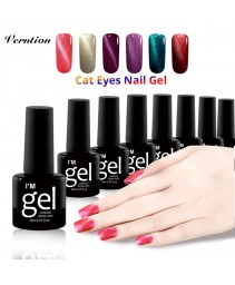 Verntion gato eye gel primário vernis semi 8ml permanente led