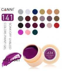 Nail art set descascar 141 cores gel pintura uv/led