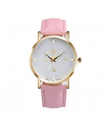 Women ' s watch fashion erkek saat quartzo banda de couro watch